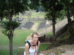 Visiting the Copan Ruins