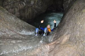 Canyoning in Interlaken, Switzerland