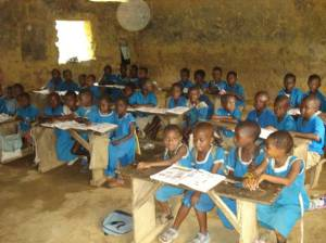 Teaching in Cameroon