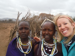 Selfie with the Masai Ladies