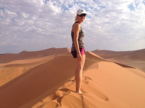 Feeling on top of the world at Dune 45!