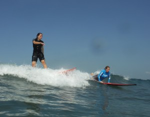 My free surf instructor - Hobo M.