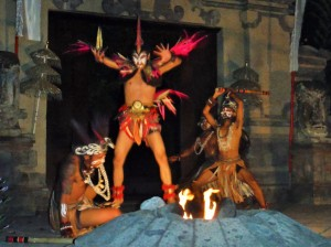 Mythological Indonesian Dance.